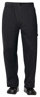 Dickies Chef Men's Full Elastic Waist Double Needle Stitching Chef Pant. DC13