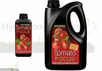 Tomato Focus Grow Bloom Nutrient Hydro Systems Hard Soft Water Hydroponics