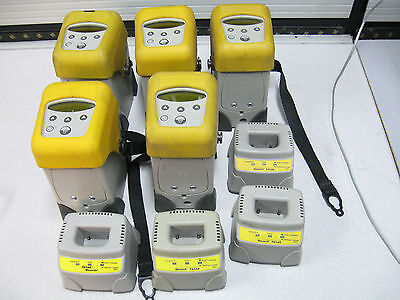 "lot 5pcs Monarch 9460np Paxar Portable POS Thermal 2"" Label Printer + 4 charger"