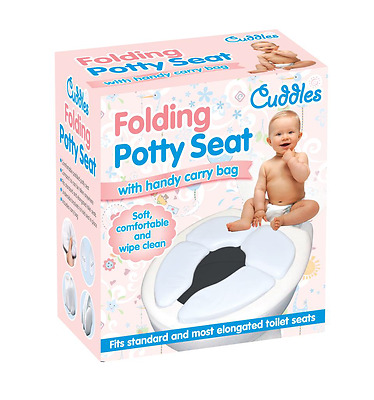 Baby Kids Portable Foldable Plastic Travel Potty Training Chair Toilet Safe Seat