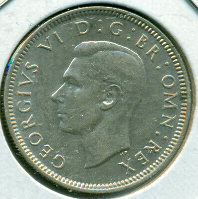1943 Uk/gb Shilling, Almost Uncirculated/brilliant Uncirculated, Great Price!
