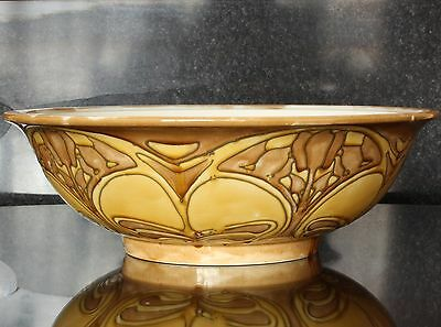"Large Minton Secessionist Wash Water Bowl, Pattern No 2, 15"" diameter"