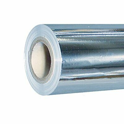Hydroponics Indoor Grow Growing Silver Reflective Mylar Sheeting 1.2m x 100m
