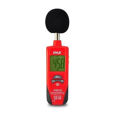 Pyle PSPL25 Sound Level Meter with A and C Frequency Weighting