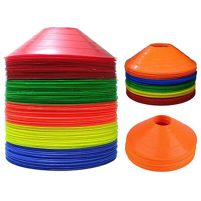 Disc Cones Soccer Football Field Marking Cross Training Track 20 / 50 / 100 Set