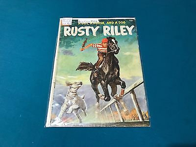 Dell Four Color #554 Rusty Riley Good