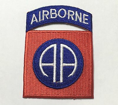Wwii Us Army 82Nd Airborne Division Paratrooper Shoulder Patch Badge-1014