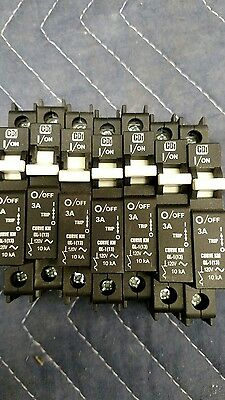 7 CBI 3A Single Pole Minature Industrial Circuit Breaker QL-1(13) IEC 60947-2