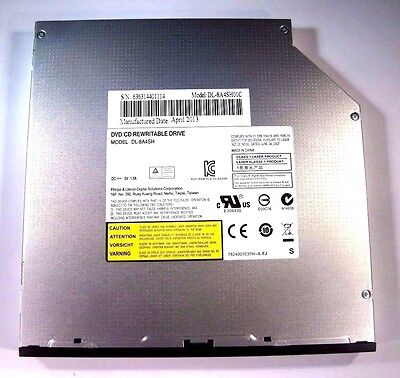 Optical Drive Lite-On DL-8A4SH Internal Slim DVD+/-RW Slot Load Drive D2 R