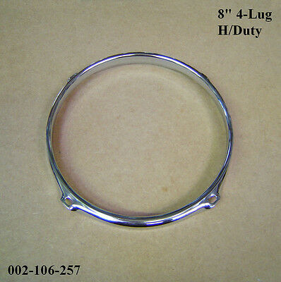 "8"" 4-Lug H/D Triple Flanged Hoop / Ring / Rim For Tom Toms, Drums 002-106-257"