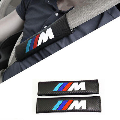 Lot De 2 Harnais Fourreau De Protection Carbone Ceinture Bmw M Motorsport