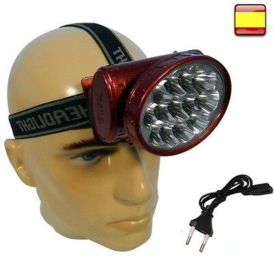Linterna Frontal De Cabeza Recargable Outdoor Cree Xlm T6 Led Headlamp 90º