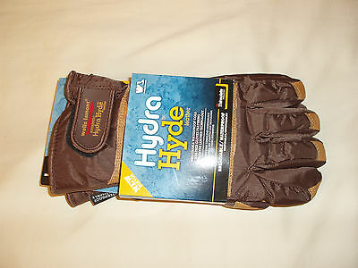New Wells Lamont Hydra Hyde Thermal Insulated Waterproof Gloves Leather LARGE L