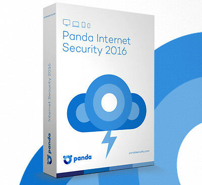 Panda Internet Security 2016 - 3 Pc  - 2 Years Cover - New And Sealed Cd