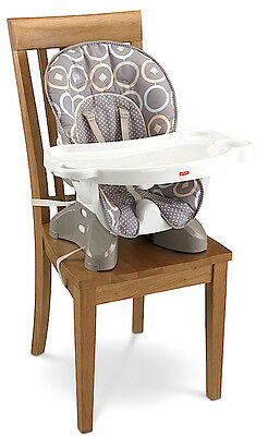 Baby High Chair Portable Compact Infant Highchair Toddler Booster Seat Feeding