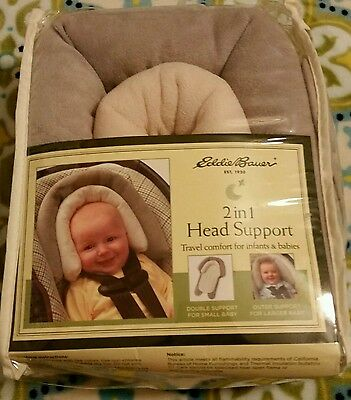Eddie Bauer, 2 in 1 Head Support - Travel comfort for infants and babies