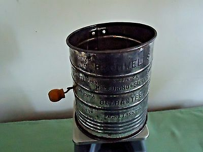 Old Bromwell's 3-Cup Measuring Sifter