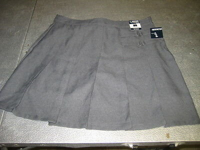 Girls  Gray Skort Two Tab Scooter French Toast School Uniform