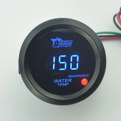 Universal Temperature Meter 52mm Car Auto Digital LED Water Temp Gauge Pointer