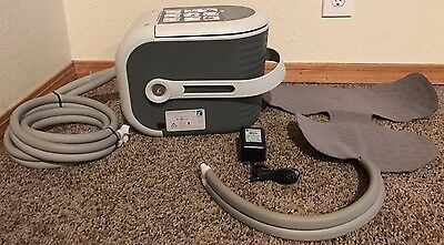 Ossur Cold Rush Therapy Unit with Shoulder Pad Unit B-232000010 AC Adapter
