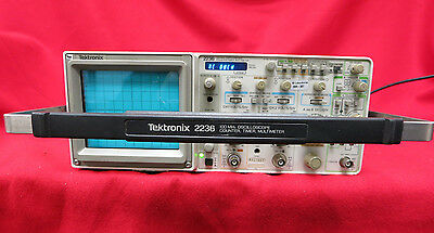 Tektronix 2236 2-Channel 100MHz Oscilloscope Counter Timer Multimeter #120