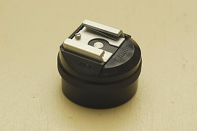 Nikon AS-1 hot shoe adapter for model F2 Very Good Condition