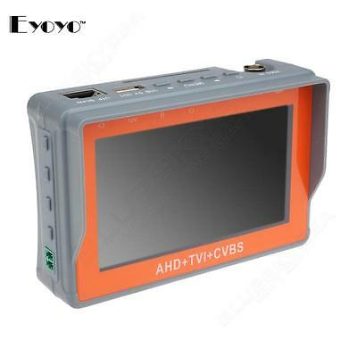 "1080P AHD TVI HD Analogy CCTV Camera PTZ Control 4.3"" Video Monitor Tester O1P"