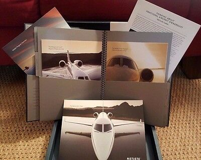 Netjets  Ad Campaign And Booklets