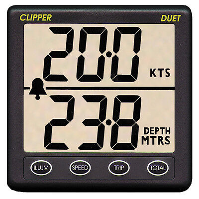 Nasa Marine Sailing / Yacht Speed and Depth Instrument (Clipper)