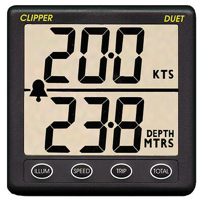Sailing / Yacht Speed and Depth Instrument (NASA, Clipper)