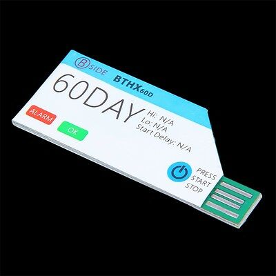 AU BSIDE 60Days Single Use USB Waterproof Cold Chain Temperature Data Logger ID