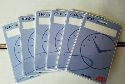 B3G1!  50 Brand new genuine ADP HID proximity badge timeclock 400, 4500, intouch