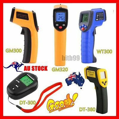 AU Handheld Digital LCD Temperature Thermometer Laser Non-Contact IR Infrared ID