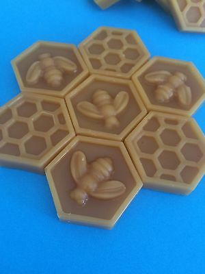 Pure Natural 100% Organic Unrefined Australian Beeswax 1 x 17-19 g Block