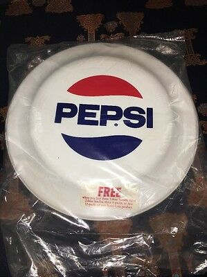 """New Vintage 1980s Pepsi Frisbee-Humphrey Flyer- 9""""- Made in USA"""