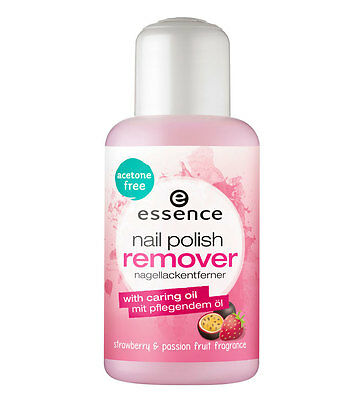 Essence Nail Polish Remover Acetone Free With Strawberry & Passion Fruit 150 ml