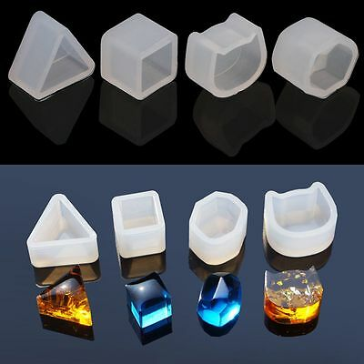 Silicone Earring Mold Mould Tool Kit For Epoxy Resin Flower Herbarium Jewelry