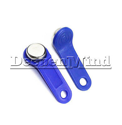 DS1990A-F5 TM Card iButton Tag With Wall-Mounted Holder Blue M97