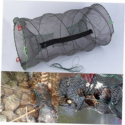 AU Crab Crayfish Lobster Catcher Pot Trap Fish Net Eel Prawn Shrimp Live Bait ID