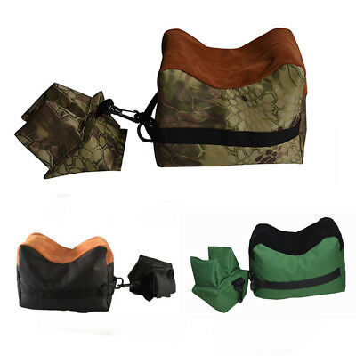 Heavy Duty Front &Rear Stand Rest Bag for Rifle Air Hunting Shooting Target