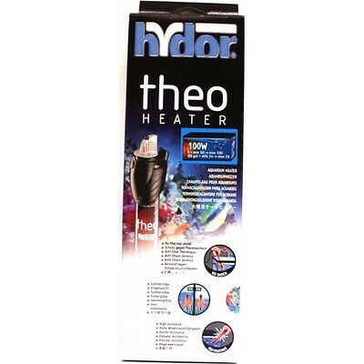 Hydor Submersible Glass Aquarium Heater - Original Theo 100W