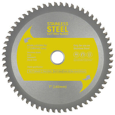 "TCT Stainless Steel Cutting Blade 7"" (180mm) 9"" (230mm) 10"" (255mm) 14"" (355mm)"