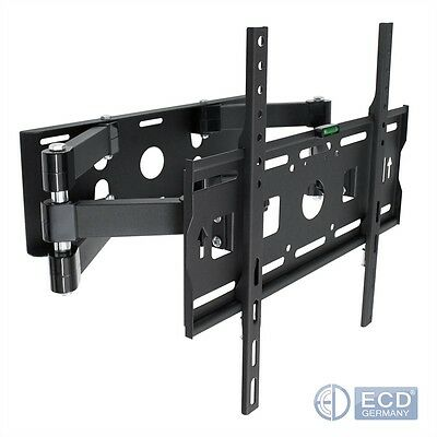 "Support TV mural orientable inclinable 32""-55"" 81-140cm LCD ecrans plats 100 kg"