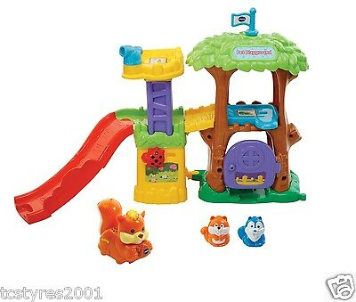 NEW Vtech - Toot-Toot Animals - Pet Playground - with Toot-Toot Squirrel
