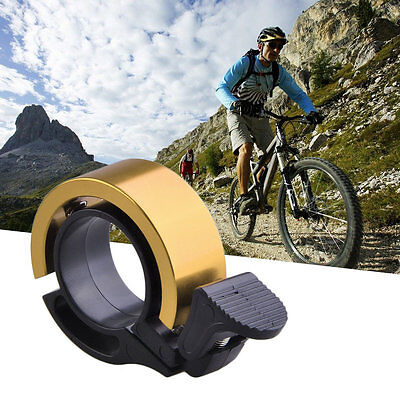 Invisible Bell Aluminum Alloy Loud Sound Handlebar Safety Horn For Bicycle AU