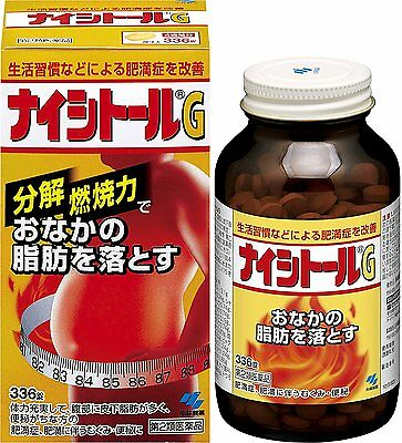 New! Naishitoru G Reduce Belly Fat Diet Weight Loss Supplement 336 tablets Japan