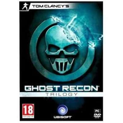 Tom Clancy's Ghost Recon Trilogy - PC DVD - New & Sealed