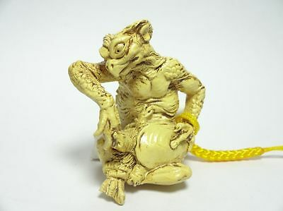 Netsuke Kappa Kaiyodo River monster  Free Shipping Japan Antique Vintage 170203