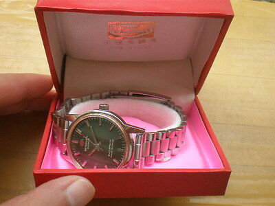 Old Stock Brand New China Seagull 19 Jewels Manual Men's Watch,with box