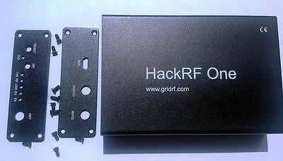 1pcs Black Aluminum Enclosure Cover case for HackRF One